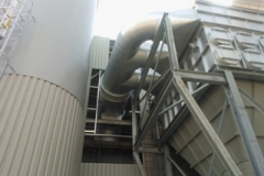 POWER STATION FILTER PLANT - MULTI CYCLONE MANIFOLD INLET SYSTEM
