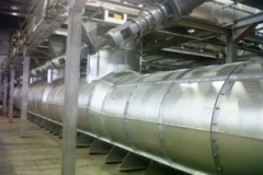 WASTE TO ENERGY PYROLOSIS PLANT - MAIN BOILER SUPPLY DUCT