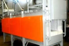 CONTINUOUS PUSHER FURNACE