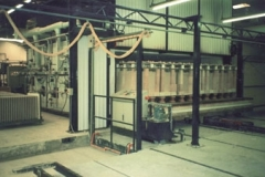 3 CAR SHUTTLE KILN FIRING REFRACTORY KILN FURNITURE AT 1400°C