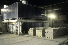 MOVING HOOD KILN FOR CONSTRUCTION BRICKS