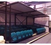 ALL SEATER SPECTATOR STANDS