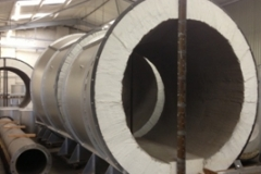 WASTE TO ENERGY PYROLOSIS PLANT - MAIN BOILER DUCT SECTION