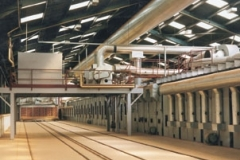 TUNNEL KILN PRODUCING 35 MILLION  RED FACING BRICKS PER YEAR