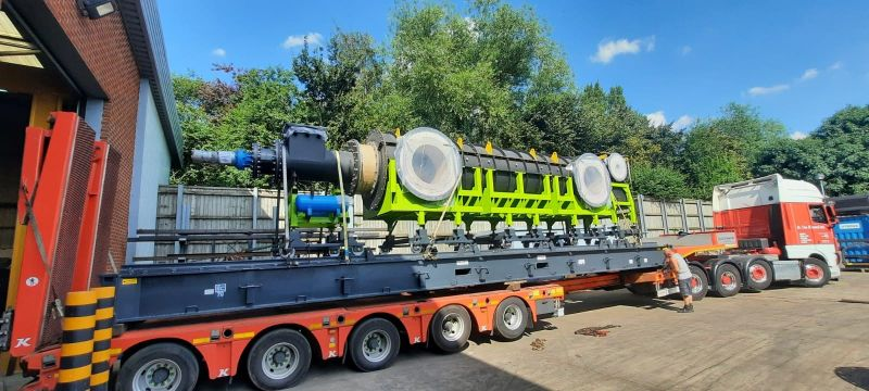 Skid Mounted Refractory Lined Waste Processing Reactor